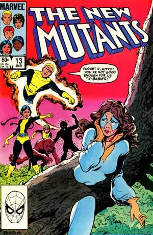 New Mutants #13 comic cover