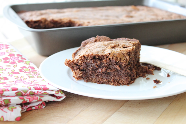 Ancho Brownies *Guest Post* %The Baker Chick