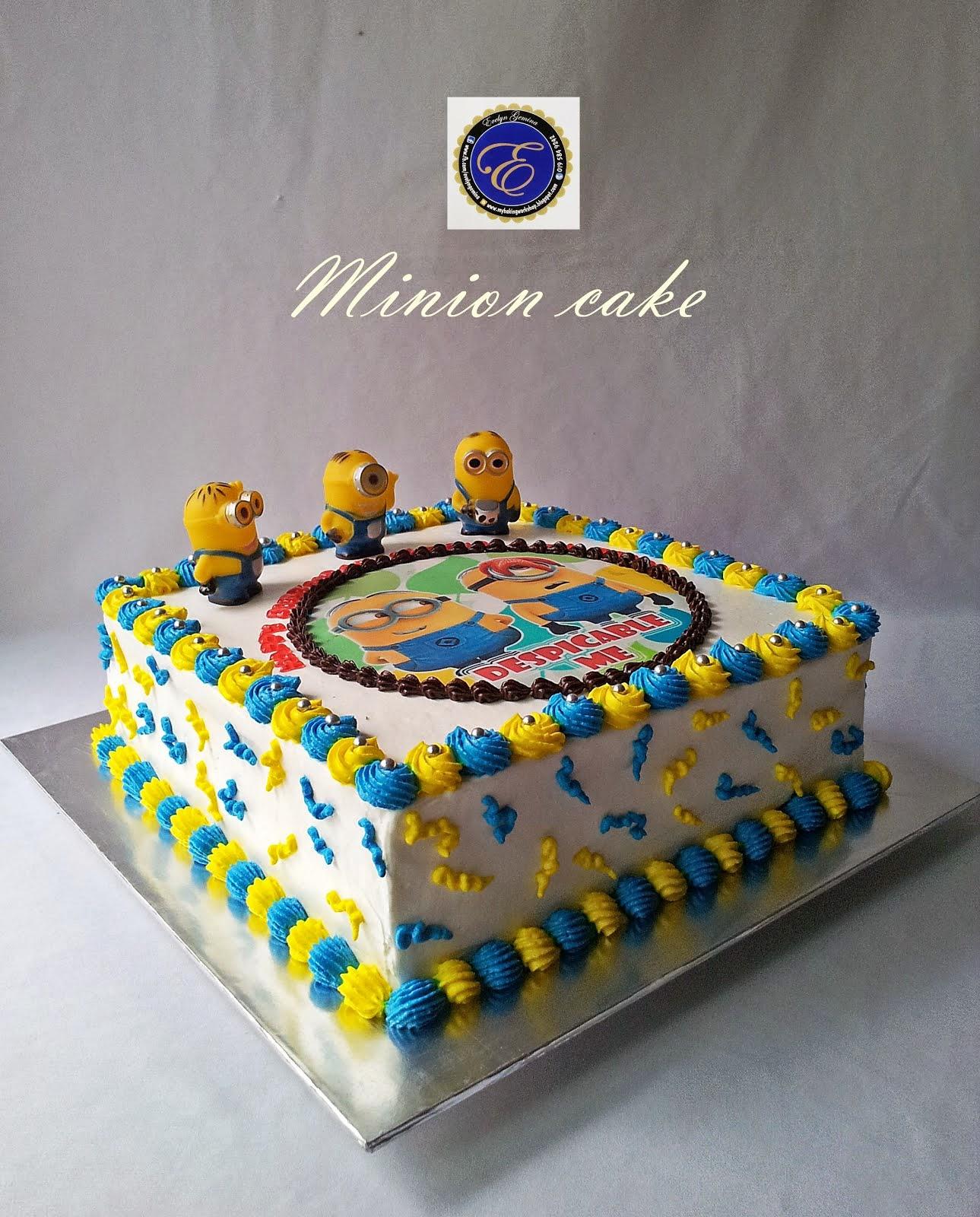 Minion Cake (Yam Cheesecake) / 2.5kg