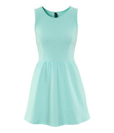 Mint kleurige jurk