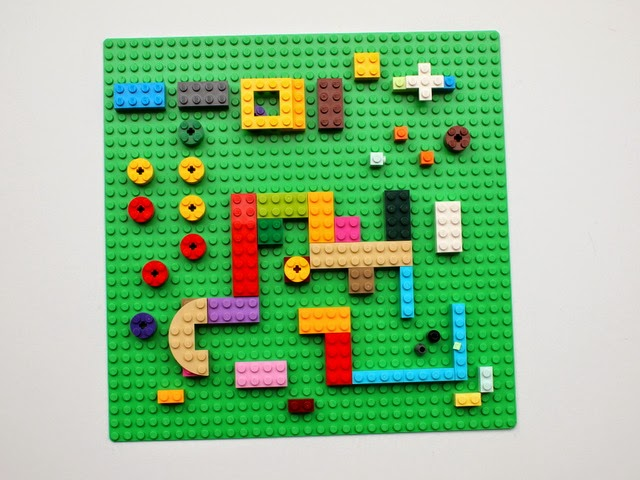 Lego Prints- Step 1, design your lego board