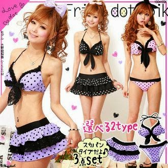 Crazy and Kawaii Desu, cute, dress, Gyaru, kawaii, Kawaii Desu, Kawaii outfits , Moda Kawaii, Ulzzang, Summer, Look, swimwear, Pastel,