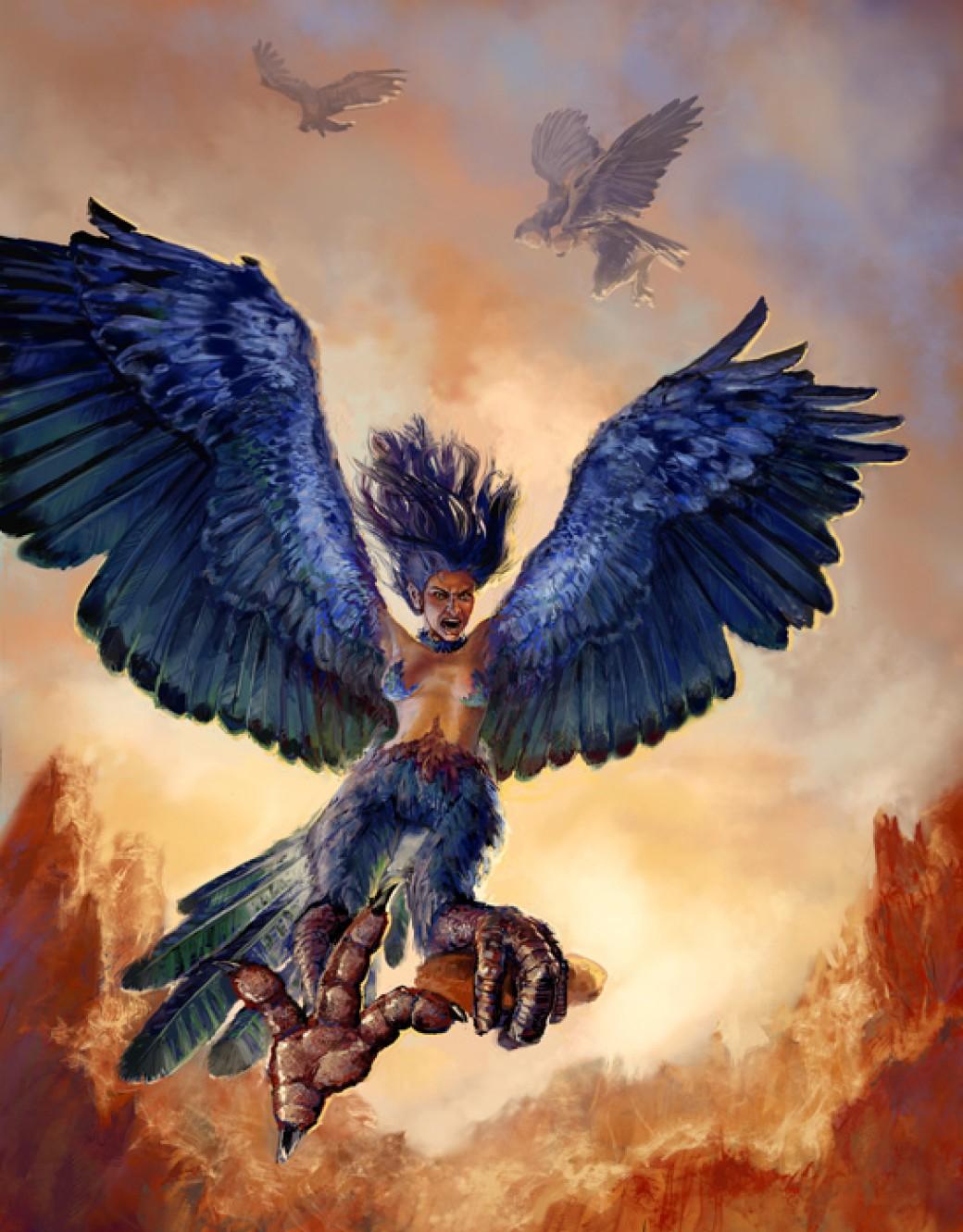 Harpy por thegryph