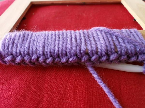 marcos de fotos de crochet