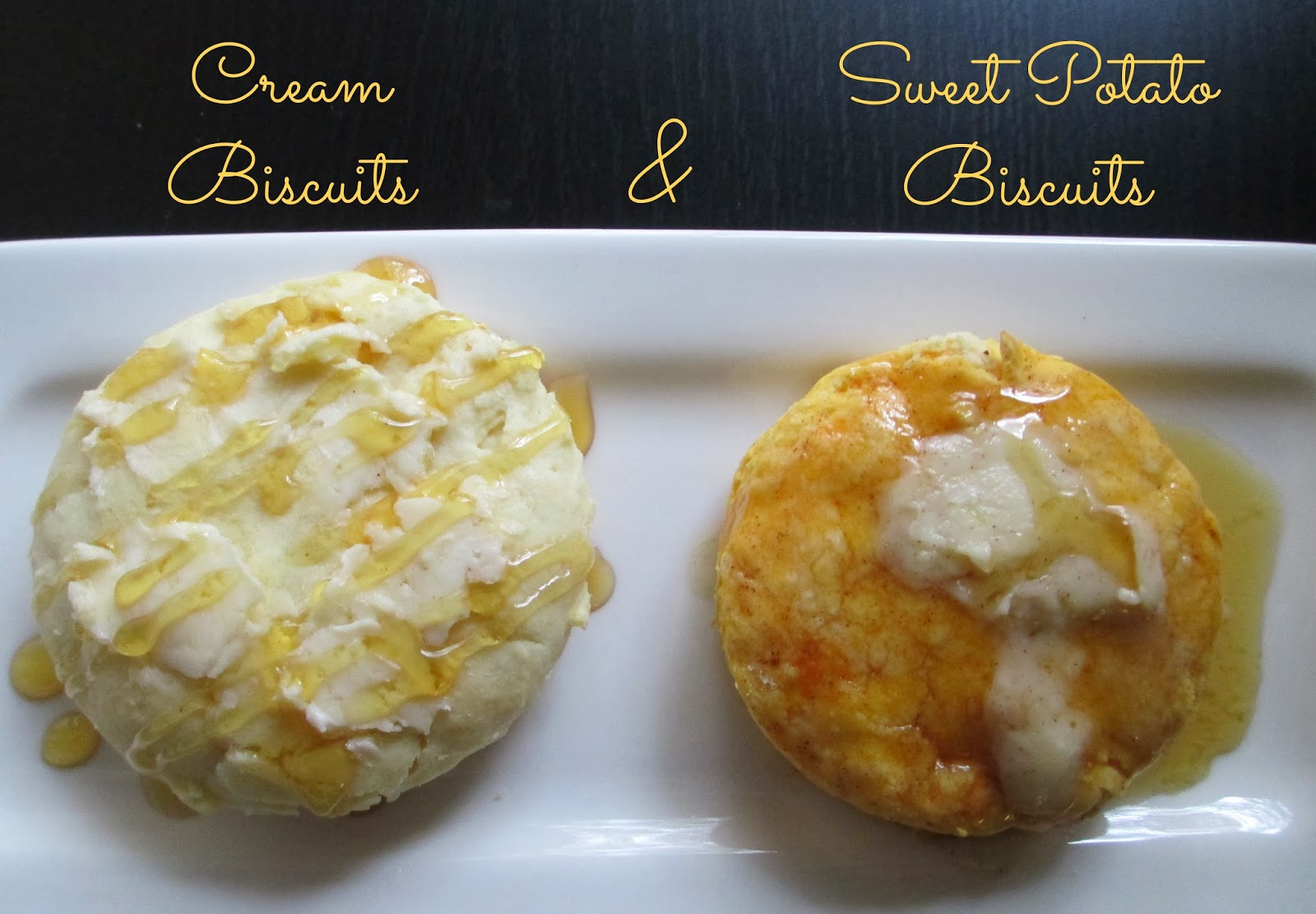 Cream Biscuits and Sweet Potato Biscuits | Epicurious Em