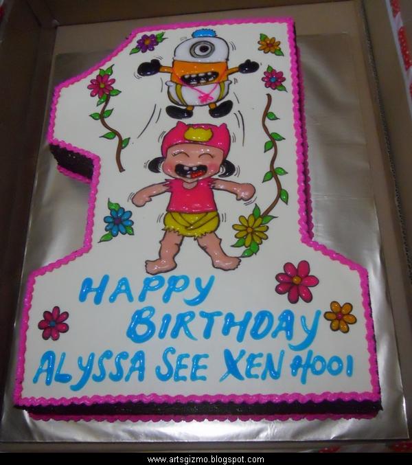 Funtastic Arts N Gizmo Handmade Arts And Crafts Birthday Cake