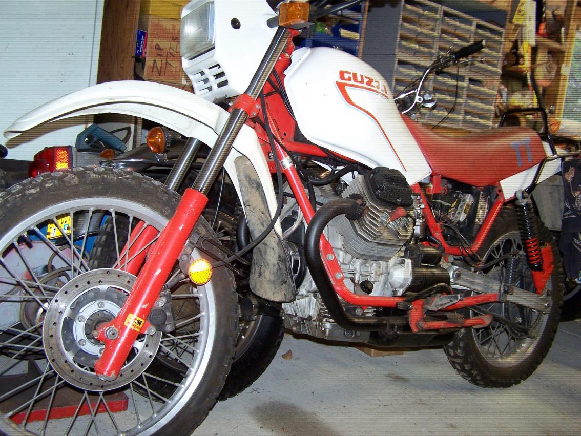 Moto Guzzi V65 TT Motorbike