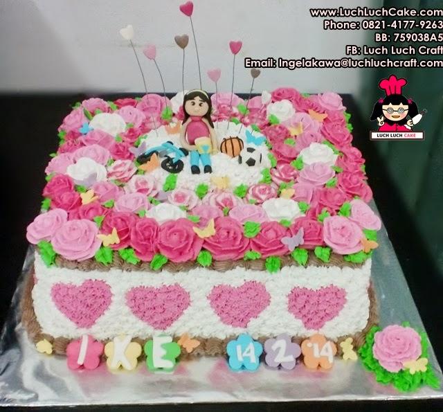 Kue Tart Valentine Daerah Surabaya - Sidoarjo