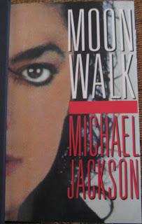 okładka książki Moonwalk Michael Jackson