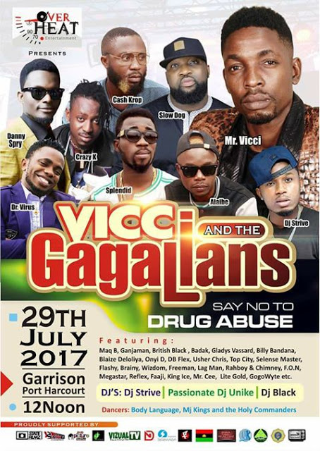 EVENT:FEEL THE HEAT AS MR VICCI STORM THE CITY OF PH. (SAY NO TO DRUG ABUSE)