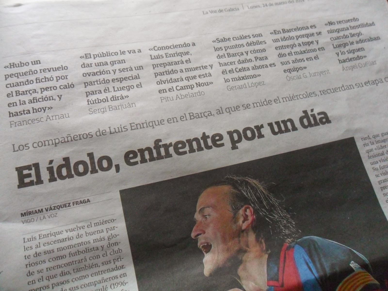 Compañeros de Luis Enrique en el Barça recuerdan su etapa culé