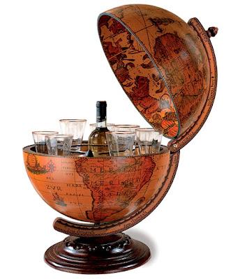 bar glob pamantesc - cadou de Craciun