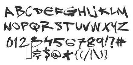 Wildstyle Graffiti Fonts DJ Gross