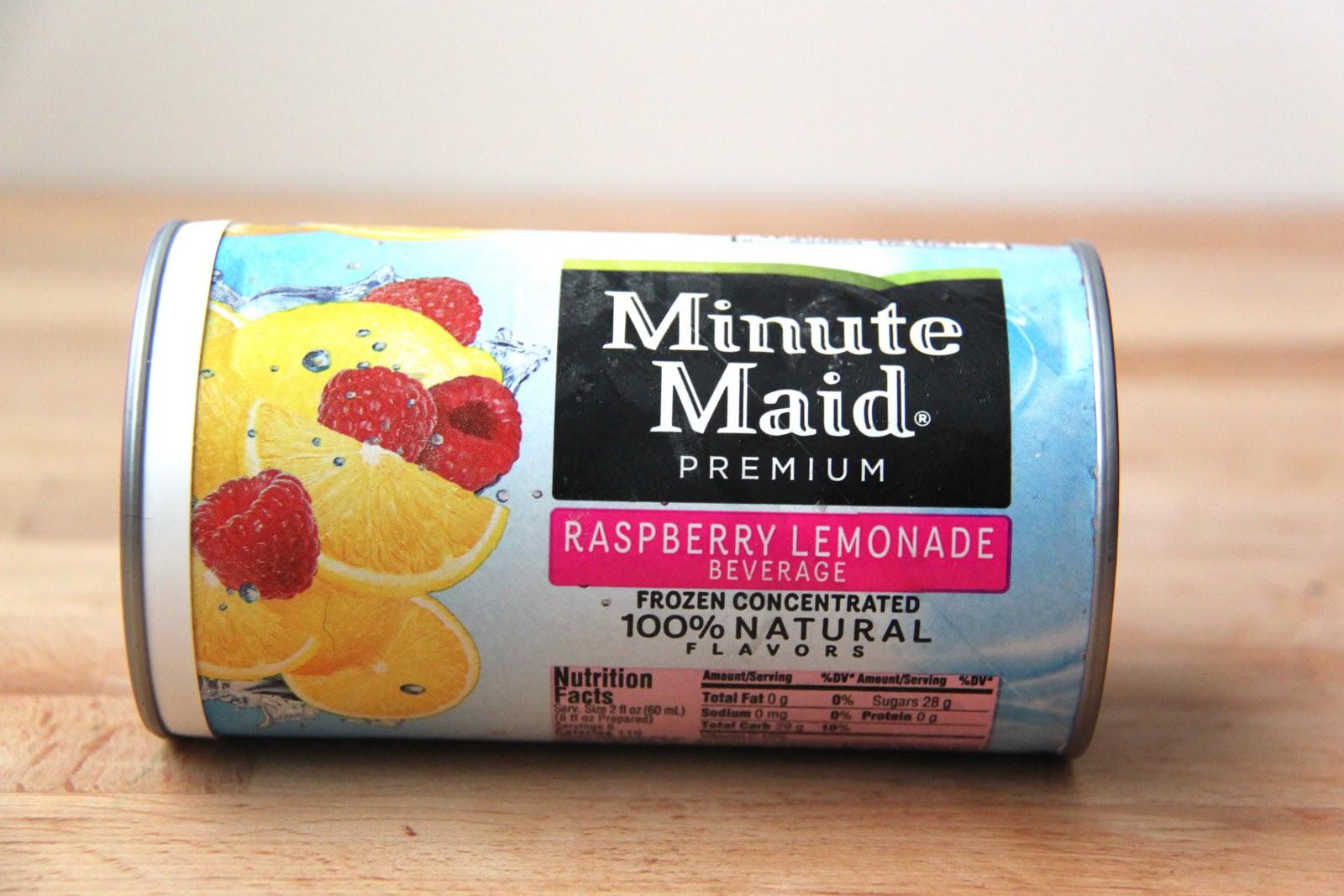 Frozen lemonade concentrate