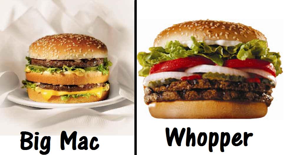 Matthew TW Huang: Whopper VS Big Mac