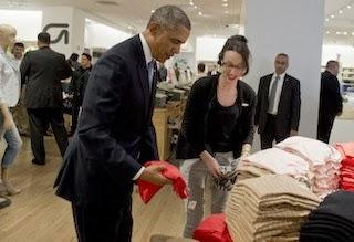 obama shopping new york