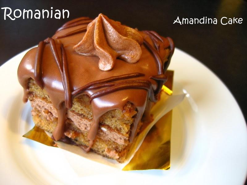 Amandine Cake Recipe