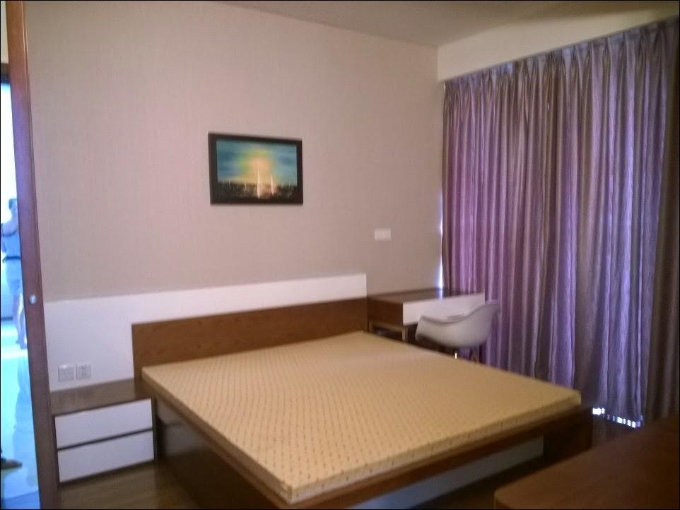 Phòng ngủ chính chung cư cao cấp Thảo Điền Pearl