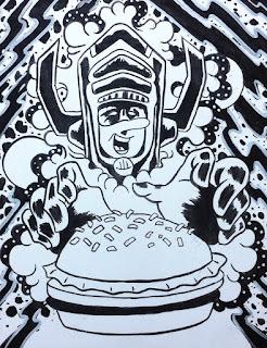 galactus jughead archie comics marvel marvel comics comic books fan art fan tattoo tattoo design cincinnati tattoo cincinnati tattooist cincinnati tattoo artist