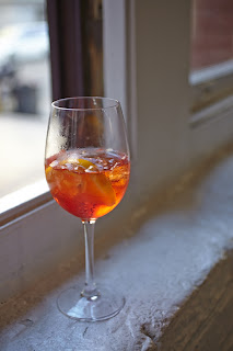 Aperitivo in San Francisco Aperol Spritz at 54 Mint