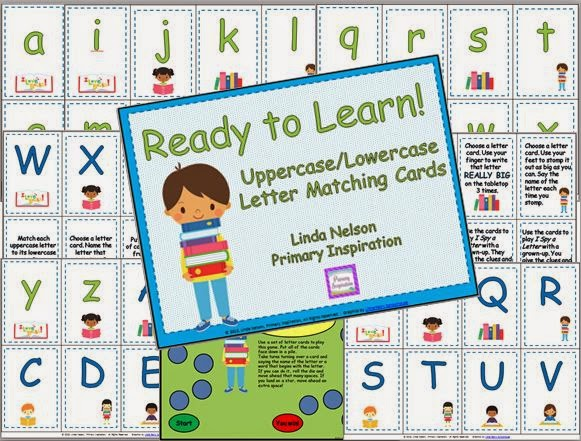 http://www.teacherspayteachers.com/Product/Ready-to-Learn-Alphabet-Cards-Task-Cards-and-Game-678542
