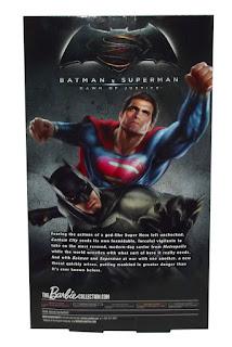 Batman v Superman Batman Barbie Collector Doll Black Label