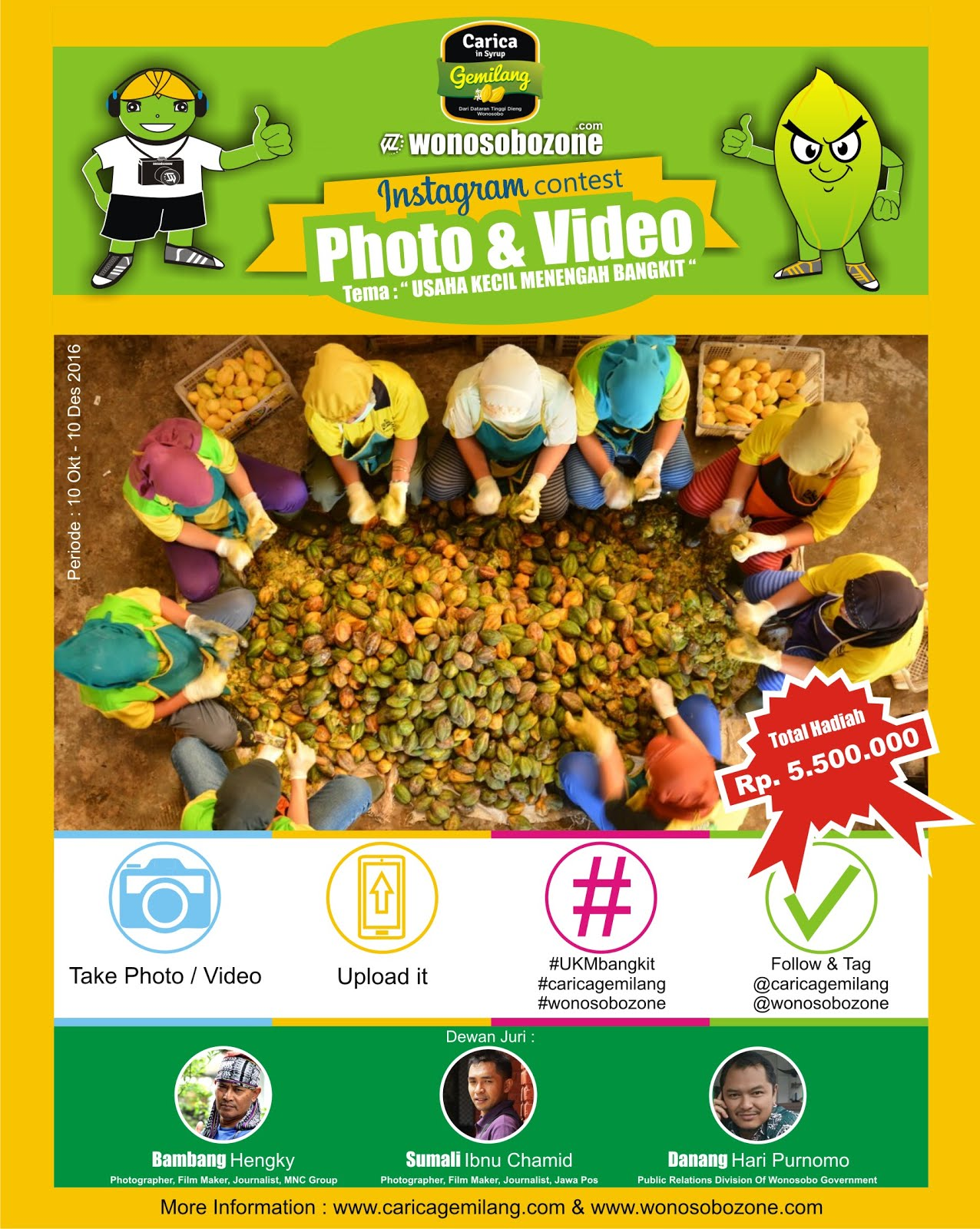 Lomba Foto & Video Berhadiah Total Rp.5.500.000