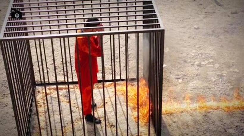 Απάνθρωποι! Οι ισλαμοφασίστες έκαναν διαγωνισμό για το πως θα δολοφονήσουν τον Ιορδανό πιλότο!