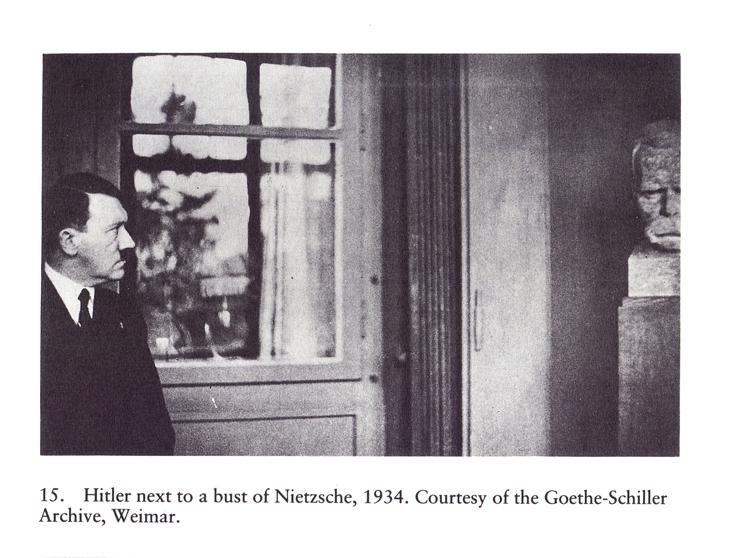 friedrich nietzsches influence on hitler essay Nietzsche and nazism - thomas bauer - essay friedrich nietzsche we do not know if hitler ever read nietzsche but there is a similarity between his writings.