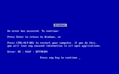 Blue Screen Windows 7