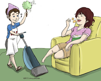625px Husband helping intro كيف تجعلي زوجك يساعدك في الأعمال المنزلية