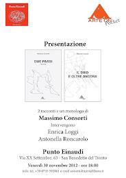 """... e il 30 novembre, 2 in 1. """"Due passi"""" e """"Il buio e oltre ancora"""" al Punto Einaudi"""