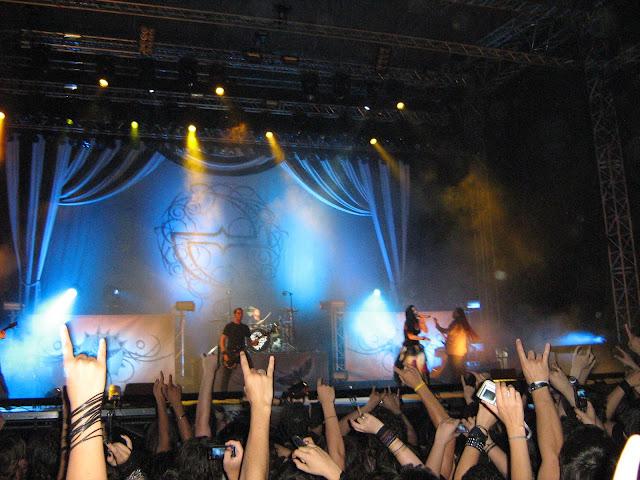 Evanescene live Karaiskaki