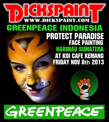 dickspaint face painting jakarta