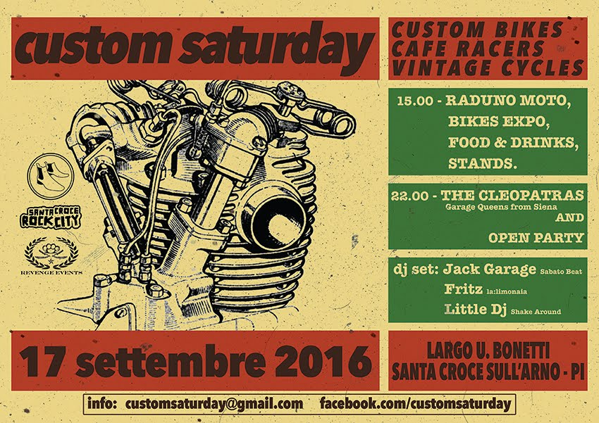 Custom Saturday 2016