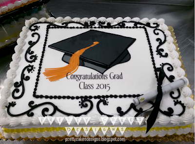 Pretty Cakes Designs Happy Graduation Class Of 2015