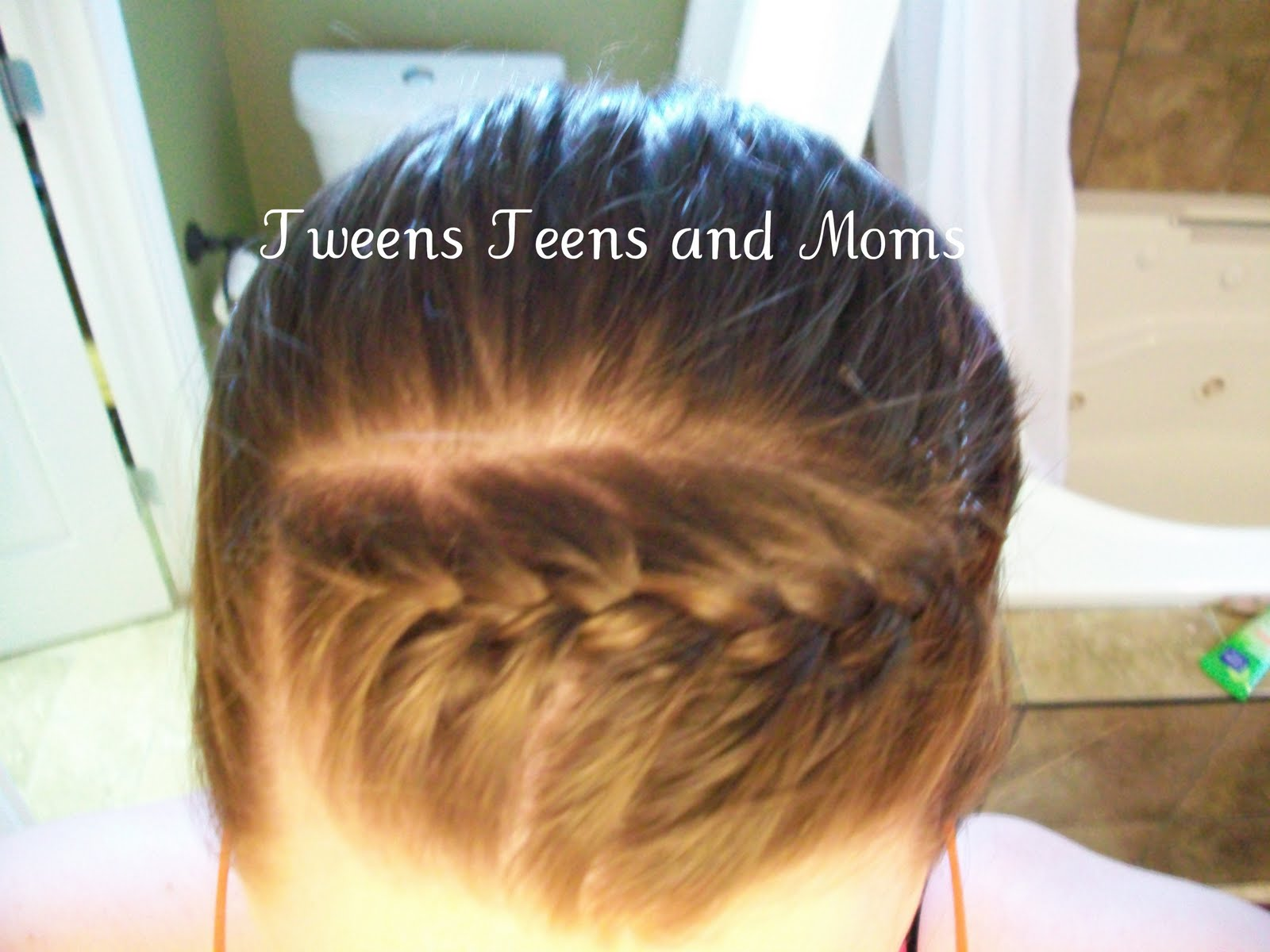 Underhand Braid Updo Hairstyles Braids