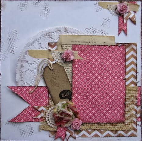 Custom Made Scrapbook Pages