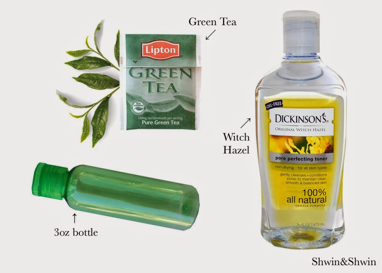 Next time you make yourself up a cup of green tea why not make a wonderful  green tea toner too!