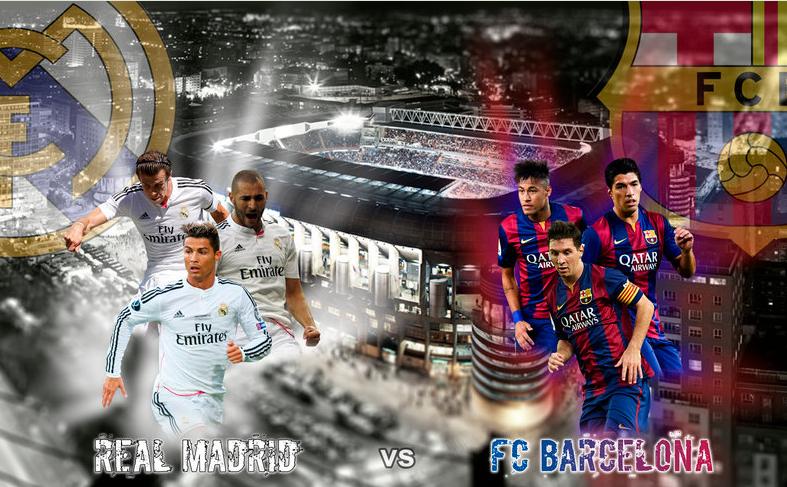 El Clasico Live Stream Real Madrid Vs Barcelona 2015 Hd Wallpapers
