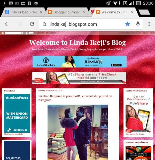 Dari Ngeblog Dapat 300 Juta Sebulan (Linda Ikeji)