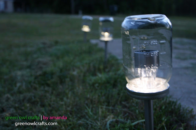 Van doren farm upcycled mason jar solar lights for Where to buy solar lights for crafts