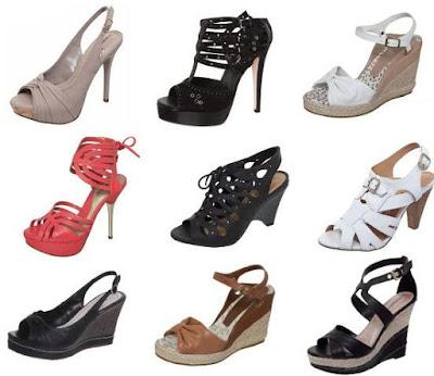 Sandalias moda verão 2012