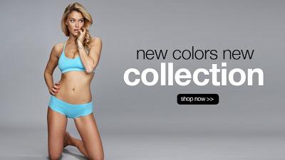 Bar Refaeli sexy underwear under.me Christmas collections