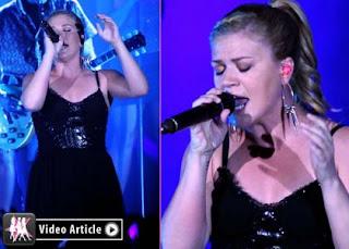 Kelly Clarkson's Sin City Performance » Gossip | Kelly Clarkson