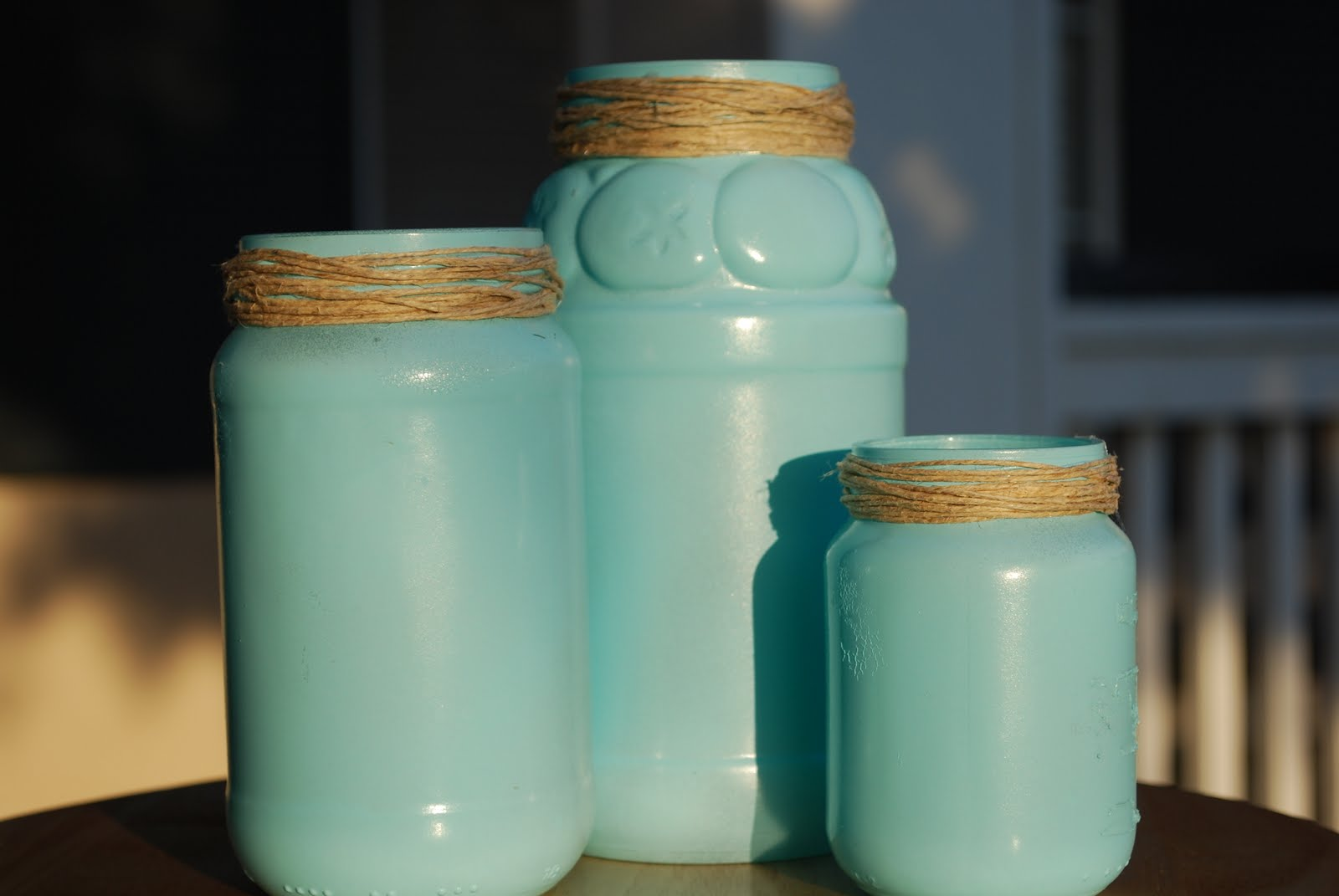 mason jars painted - photo #19
