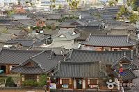 Hanok Village in Jeonju