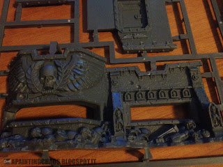 Wall of Martyrs Imperial Bunker sprue 1