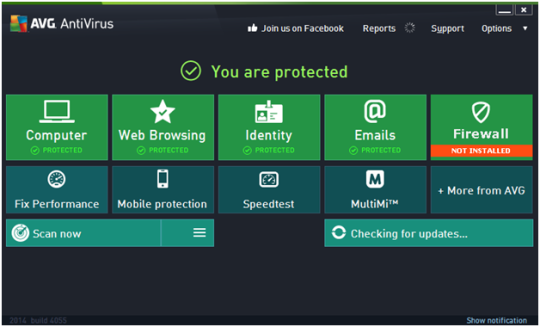 Download AVG AntiVirus Free 2014.0.4577