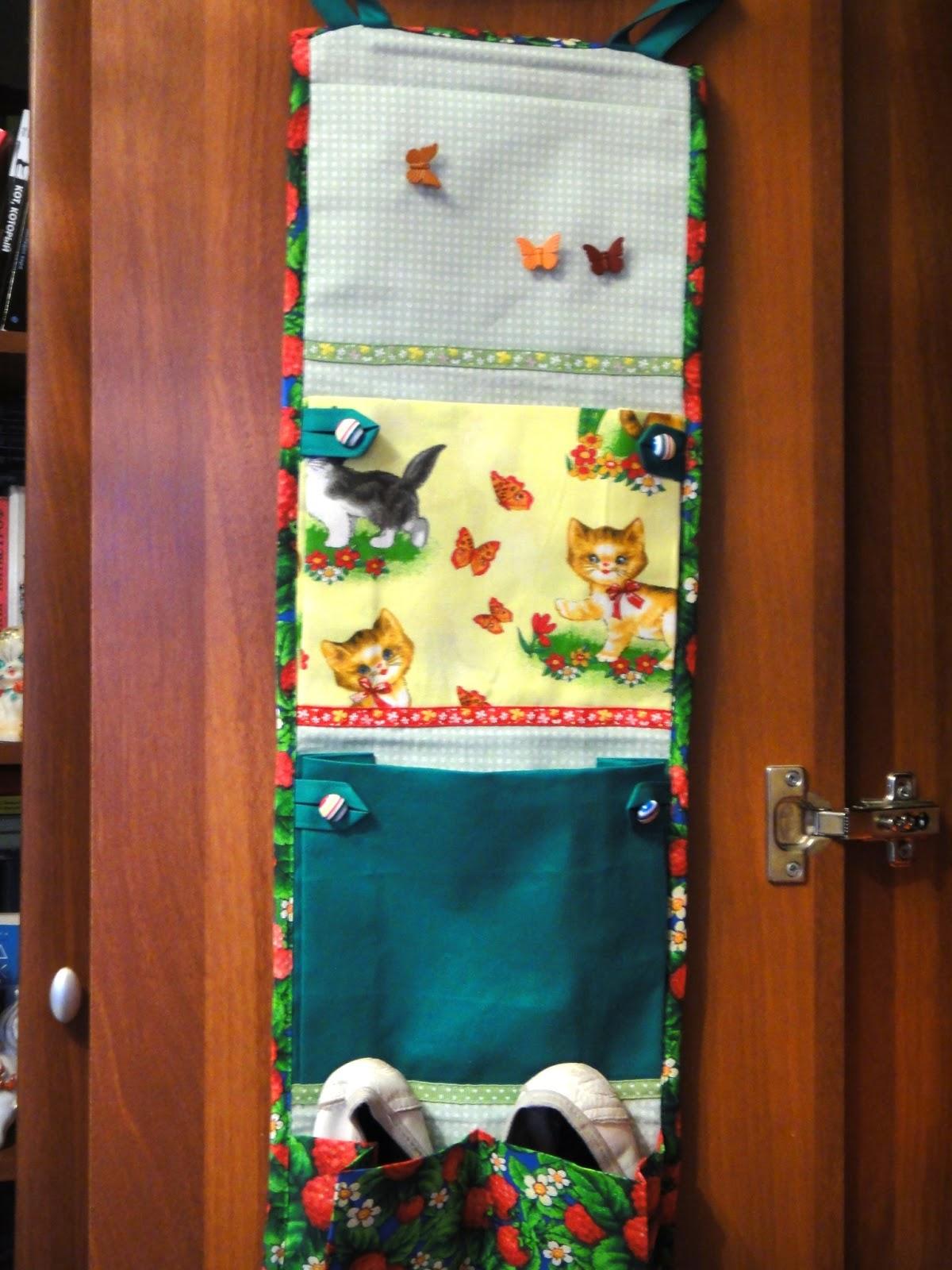 Кармашки (саше) в шкафчик для детского садика. Подробный 99